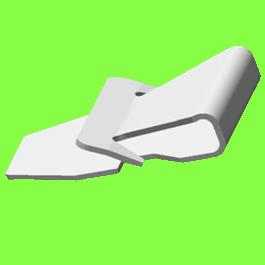 Clip Simple U - U Clip Single