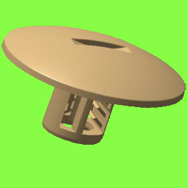 Clip Pour Goujon Métrique - Insulation Clip For metric Studs