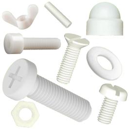 Filetage Tige Boulon DIN 975 plastique polyamide PA 1 m long M 16-1 pièces