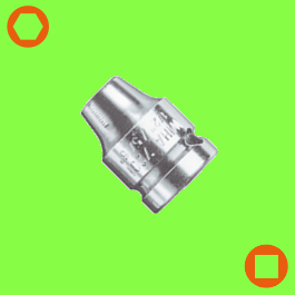 Adaptateur avec Circlip, forme G 6,3 + G 10 + G 12,5