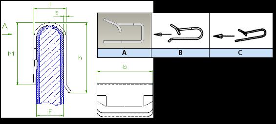 Araymond - Clip Métal Pour Panneaux - Metal Panel Clips