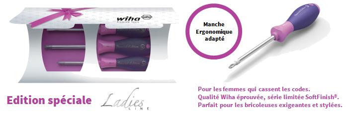 Voir nos outils Wiha Ladies Line