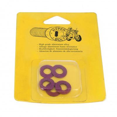 Blister de 5 Rondelles Série M AG3 OA Violet